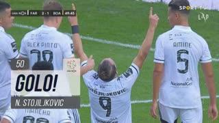 GOLO! SC Farense, N. Stojiljkovic aos 50', SC Farense 2-1 Boavista FC