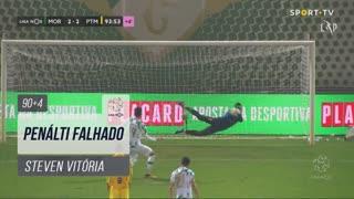 Moreirense FC, Jogada, Steven Vitória aos 90'+4'