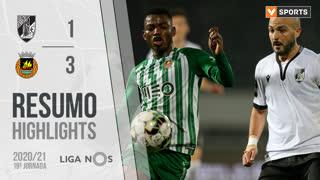 Liga NOS (19ªJ): Resumo Vitória SC 1-3 Rio Ave FC