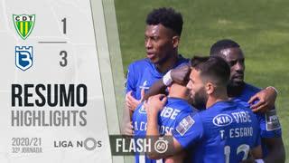 Liga NOS (32ªJ): Resumo Flash CD Tondela 1-3 Belenenses SAD