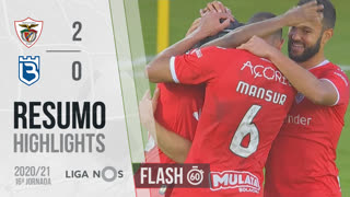 I Liga (16ªJ): Resumo Flash Santa Clara 2-0 Belenenses SAD