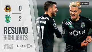 Liga NOS (31ªJ): Resumo Rio Ave FC 0-2 Sporting CP