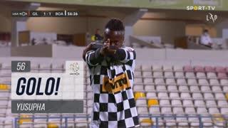 GOLO! Boavista FC, Yusupha aos 56', Gil Vicente FC 1-1 Boavista FC