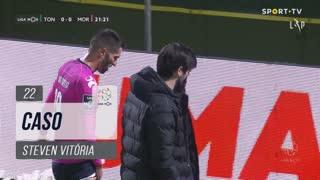 Moreirense FC, Caso, Steven Vitória aos 22'