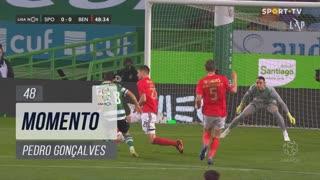 Sporting CP, Jogada, Pedro Gonçalves aos 48'