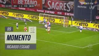 SC Braga, Jogada, Ricardo Esgaio aos 89'