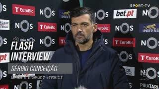Sérgio Conceição desejou para 2021 o mesmo sucesso desportivo