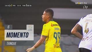 FC P.Ferreira, Jogada, Tanque aos 6'
