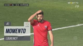Gil Vicente FC, Jogada, Lourency aos 41'