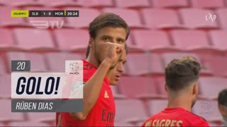 GOLO! SL Benfica, Rúben Dias aos 20', SL Benfica 1-0 Moreirense FC