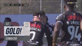 GOLO! CD Nacional, Camacho aos 57', CD Nacional 1-1 Gil Vicente FC