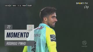 Marítimo M., Jogada, Rodrigo Pinho aos 72'