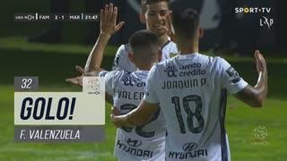 GOLO! FC Famalicão, F. Valenzuela aos 32', FC Famalicão 2-1 Marítimo M.
