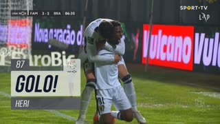 GOLO! FC Famalicão, Heri aos 87', FC Famalicão 2-2 SC Braga