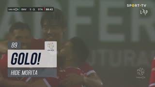GOLO! Santa Clara, Hide Morita aos 89', Rio Ave FC 1-2 Santa Clara