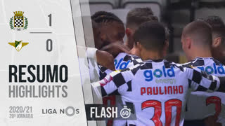 Liga NOS (20ªJ): Resumo Flash Boavista FC 1-0 Moreirense FC