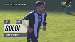 GOLO! CD Nacional, João Vigário aos 68', CD Nacional 1-2 SC Farense