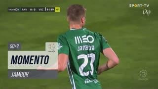 Rio Ave FC, Jogada, Jambor aos 90'+2'