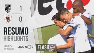 I Liga (27ªJ): Resumo Flash Vitória SC 1-0 Santa Clara
