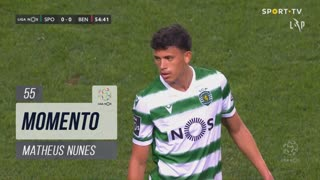 Sporting CP, Jogada, Matheus Nunes aos 55'