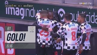 GOLO! Boavista FC, Elis aos 61', FC P.Ferreira 0-1 Boavista FC