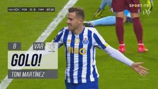 GOLO! FC Porto, Toni Martínez aos 8', FC Porto 1-0 FC Famalicão