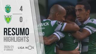 I Liga (6ªJ): Resumo Sporting CP 4-0 CD Tondela