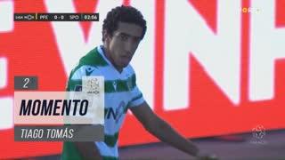 Sporting CP, Jogada, Tiago Tomás aos 2'