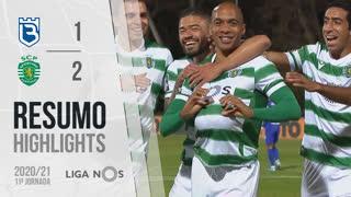 Liga NOS (11ªJ): Resumo Belenenses SAD 1-2 Sporting CP
