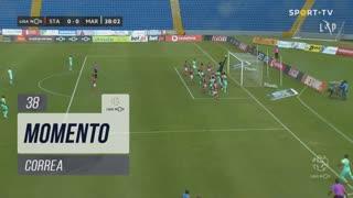 Marítimo M., Jogada, Correa aos 38'