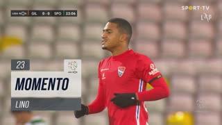 Gil Vicente FC, Jogada, Lino aos 23'