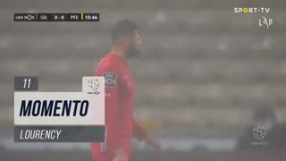 Gil Vicente FC, Jogada, Lourency aos 11'