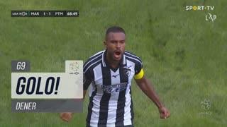 GOLO! Portimonense, Dener aos 69', Marítimo M. 1-1 Portimonense
