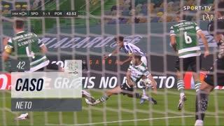 Sporting CP, Caso, Neto aos 42'