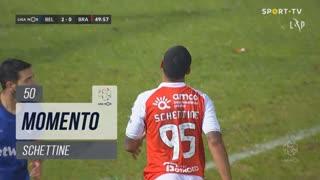SC Braga, Jogada, Schettine aos 50'