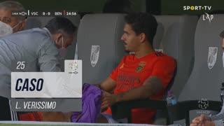 SL Benfica, Caso, L. Verissimo aos 25'