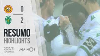 Liga NOS (13ªJ): Resumo CD Nacional 0-2 Sporting CP
