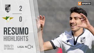 Liga NOS (30ªJ): Resumo Vitória SC 2-0 Moreirense FC