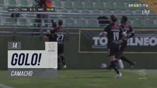 GOLO! CD Nacional, Camacho aos 13', CD Tondela 0-1 CD Nacional