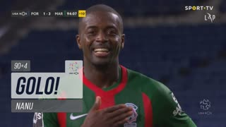 GOLO! Marítimo M., Nanu aos 90'+4', FC Porto 1-3 Marítimo M.