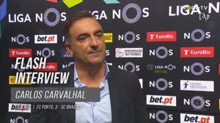 """Carlos Carvalhal: """"Viemos para discutir o jogo"""""""