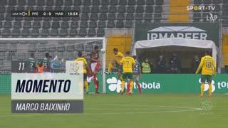FC P.Ferreira, Jogada, Marco Baixinho aos 11'