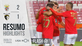 I Liga (11ªJ): Resumo Flash SL Benfica 2-1 Portimonense