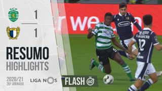Liga NOS (26ªJ): Resumo Flash Sporting CP 1-1 FC Famalicão