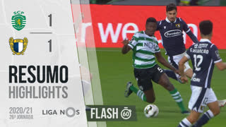 I Liga (26ªJ): Resumo Flash Sporting CP 1-1 FC Famalicão