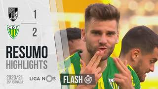 Liga NOS (25ªJ): Resumo Flash Vitória SC 1-2 CD Tondela