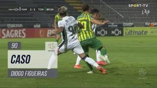 FC Famalicão, Caso, Diogo Figueiras aos 90'