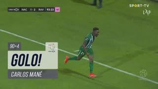 GOLO! Rio Ave FC, Carlos Mané aos 90'+4', CD Nacional 1-2 Rio Ave FC