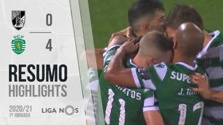 Liga NOS (7ªJ): Resumo Vitória SC 0-4 Sporting CP