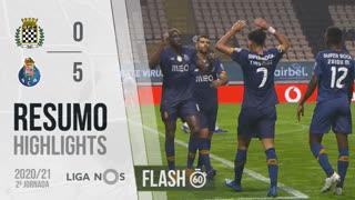 Liga NOS (2ªJ): Resumo Flash Boavista FC 0-5 FC Porto